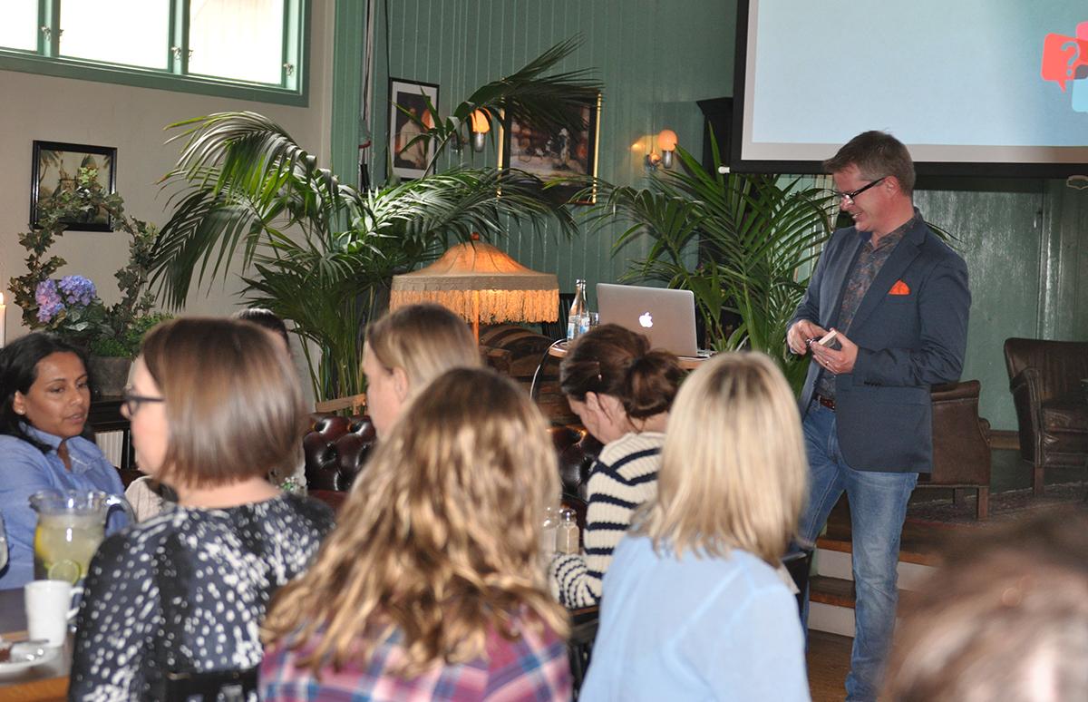 Lars Svensson E-handel föreläsning Tanums kommun